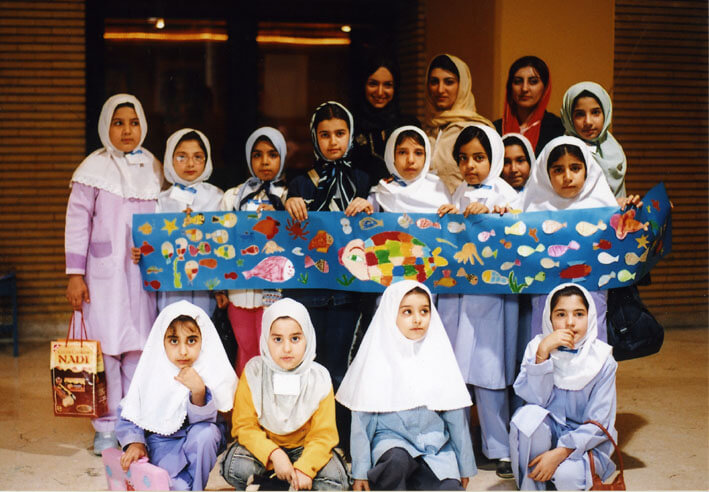 European Children's Literary Festival in Iran 2004 by X-change culture-science <br> Europejski Festiwal Literatury Dziecięcej w Iranie, zorganizowany przez X-change culture-science<br>22.09 -8.10. 2004 Tehran, Iran