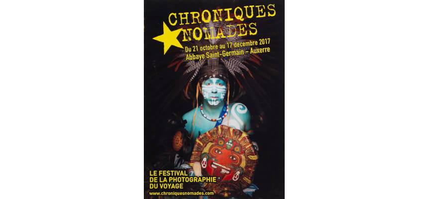 Exhibition during photography festival Chronique Nomades, Auxerre, France <br> Wystawa podczas festiwalu fotograficznego Chronique Nomades, Auxerre, Francja<br>21.10 – 17.12. 2017, Abbaye Saint Germain, Auxerre, France