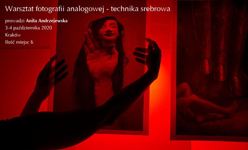 warsztat analogowej fotografii srebrowej Anita Andrzejewska