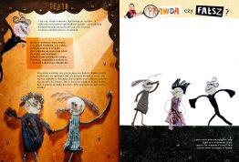 """Illustrations for """"Świerszczyk"""" short stories"""